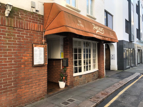 Aroma's restaurant Kensington Place