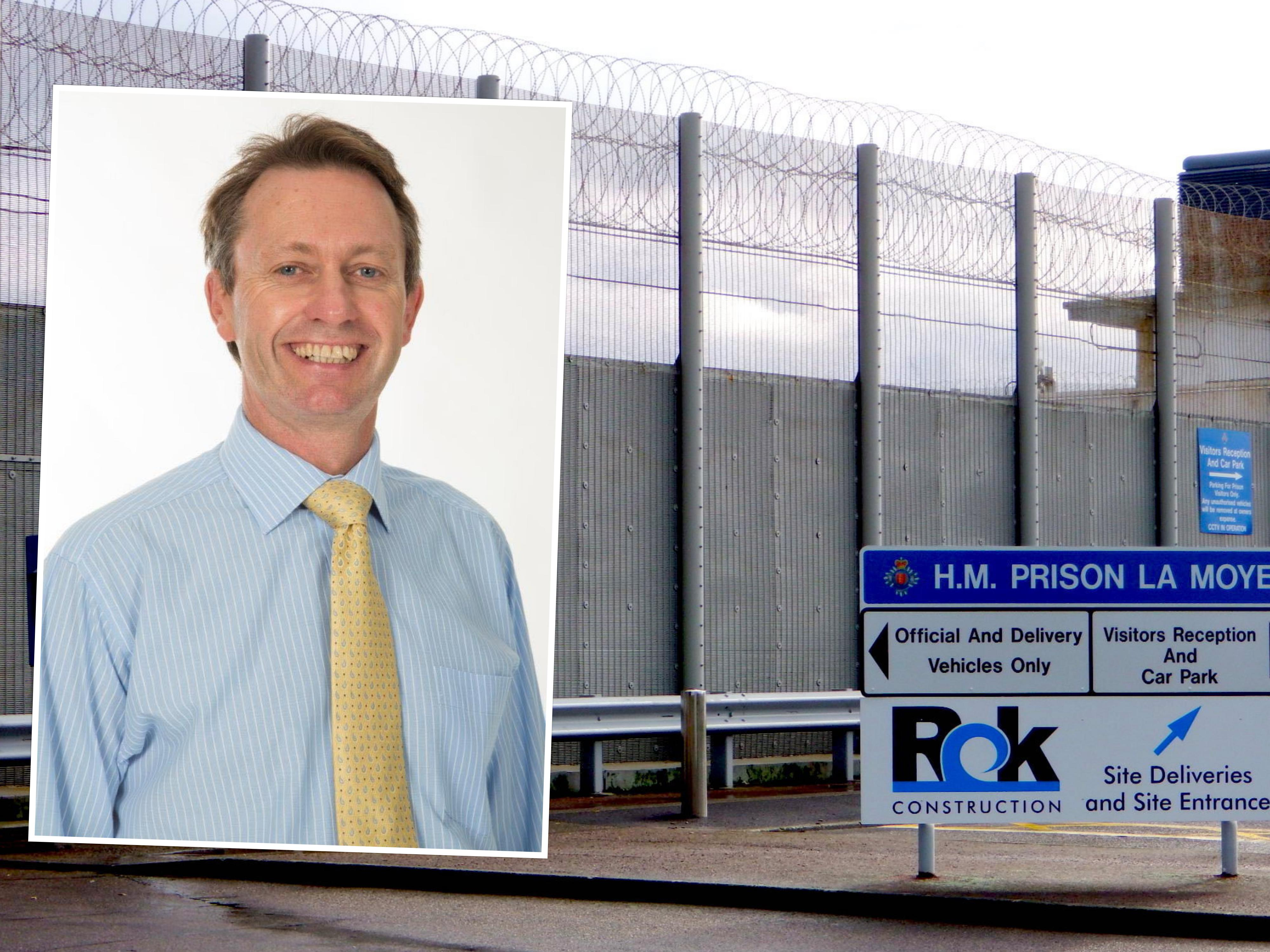 Nick Cameron Prison Governor