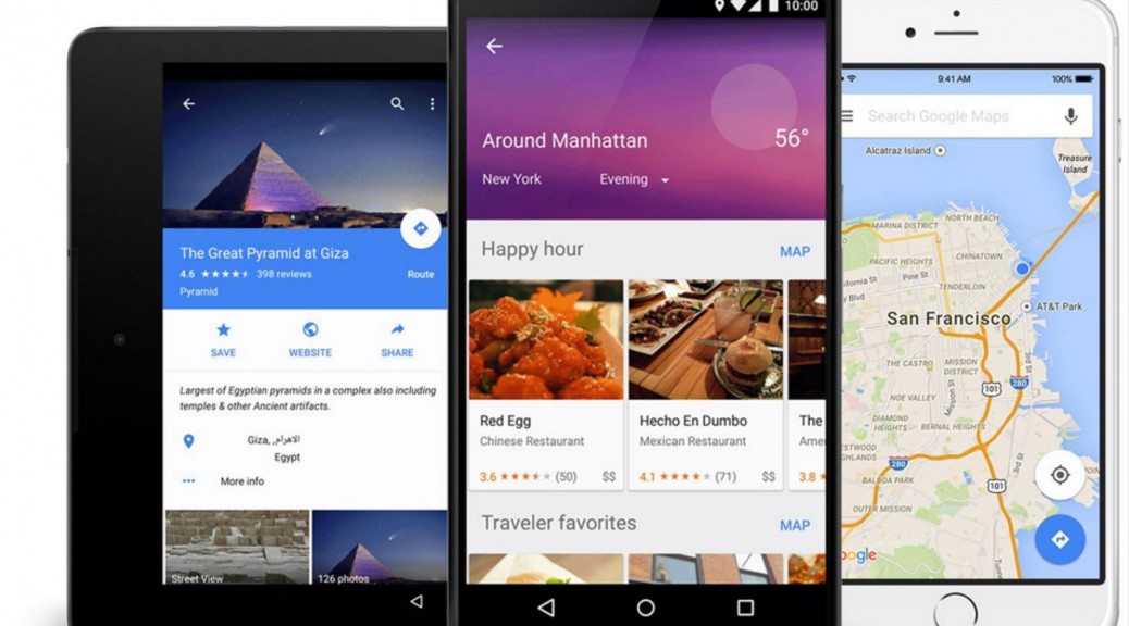Google Maps now lets you create a travel bucket list ...