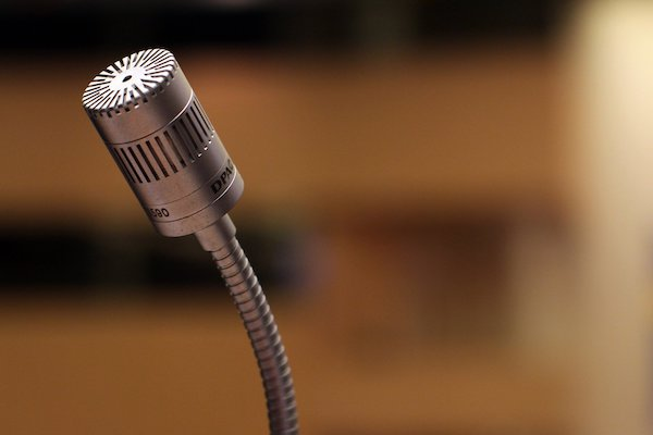 microphone evidence speech