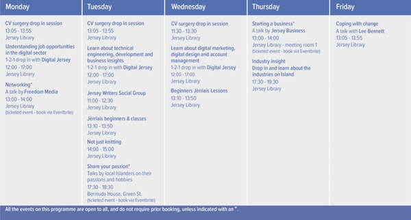 Festival of Learning 2019 programme