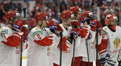 TV mix-up has Russian ice hockey fans celebrating despite losing