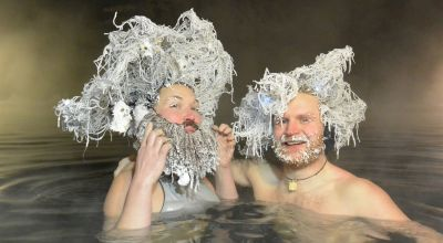 Canada has an annual hair freezing contest – and the pictures are amazing