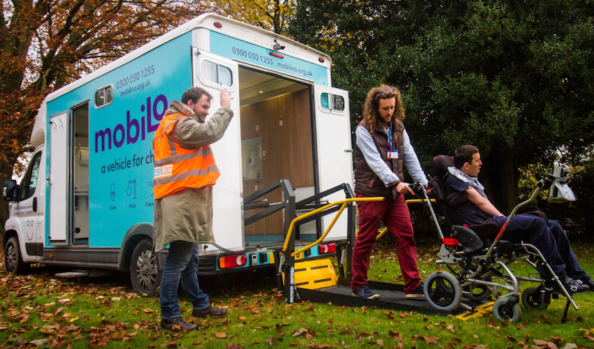 Disability charity aims to raise £50,000 for mobile accessible toilet