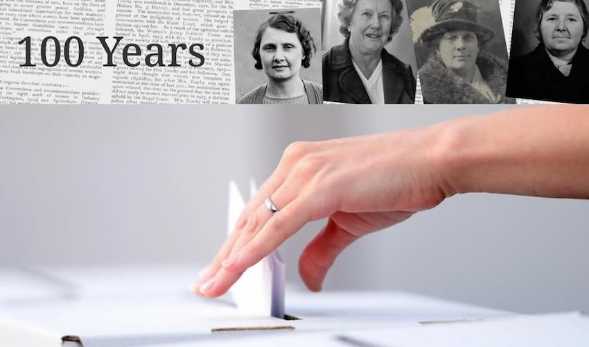 Jersey's female political pioneers celebrated