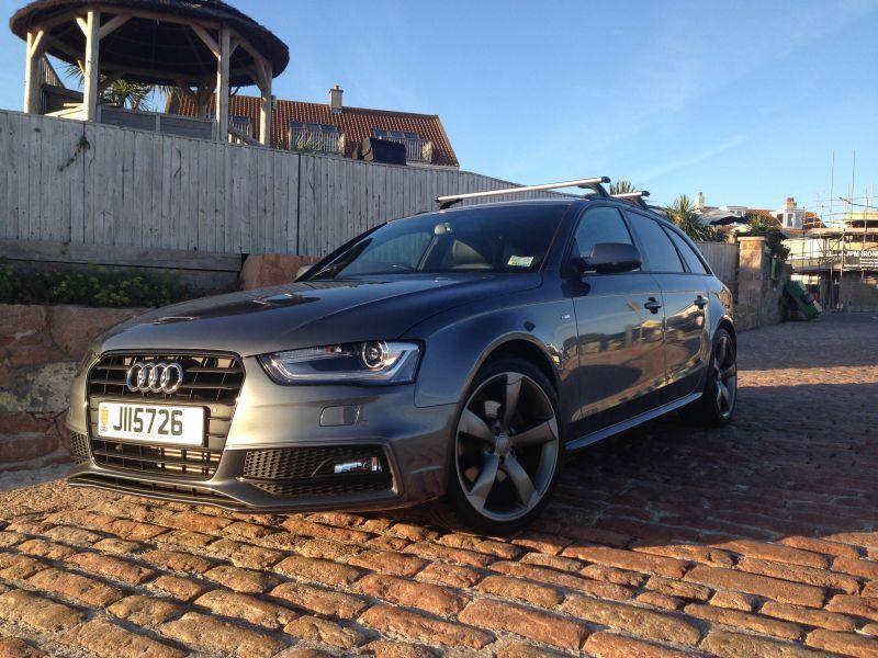 Audi A4 Avant Black Edition 20 Tdi Bailiwick Express