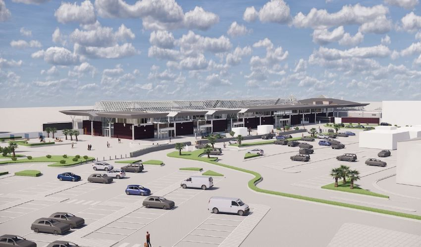 Plans for new airport layout revealed