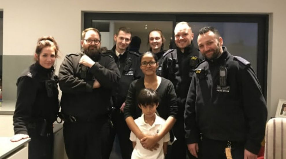 Seven-year-old boy saves mother with 999 call