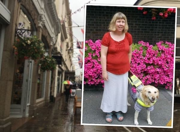 Guide dog user calls for sight loss understanding after