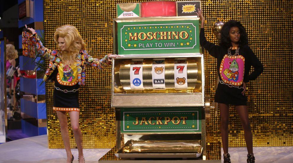 15e6becc183 Moschino turned its Milan Fashion Week catwalk into an incredible TV game  show