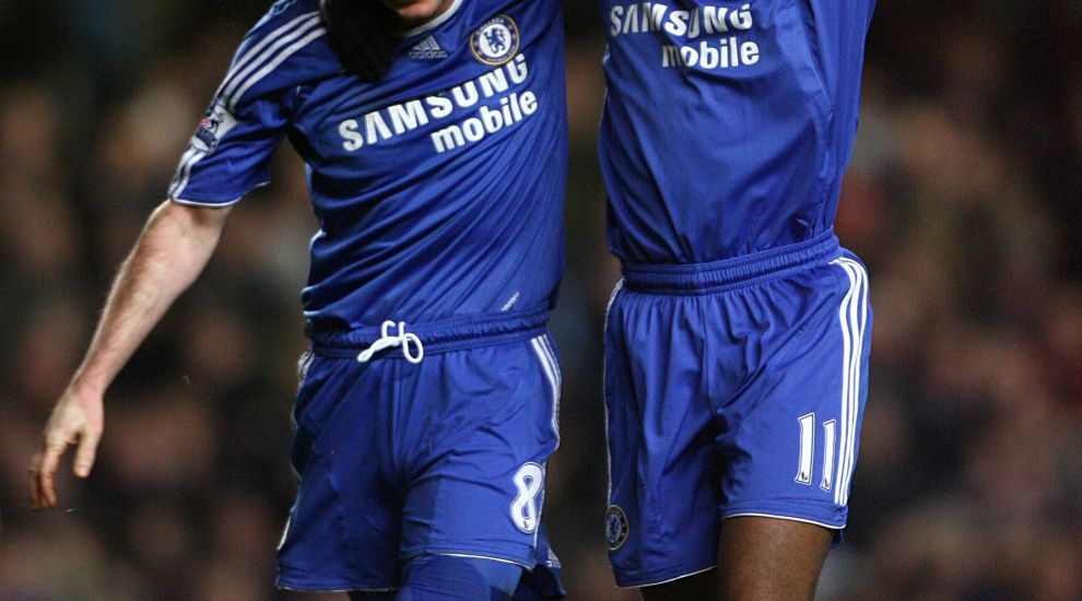 best loved b6f8a b6520 Didier Drogba welcomes new Chelsea boss Frank Lampard 'home ...