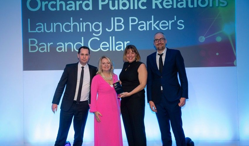 Gold stamp of approval for Orchard at CIPR PRide Awards