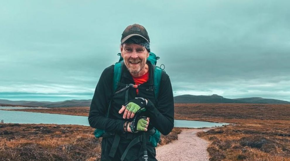 Man with stage four cancer completes Britain's 'hardest walk'