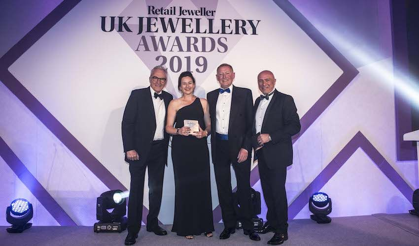 Rivolli Jewellers win UK industry award