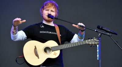 Ed Sheeran back on top after being displaced by Slipknot in album chart