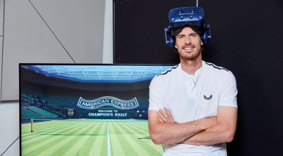 New VR experience will let tennis fans play alongside Andy Murray at Wimbledon