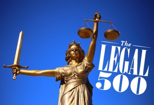 Local partners named in Legal 500 Hall of Fame