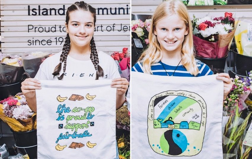 Young fairtrade champs 'bag' design opportunity