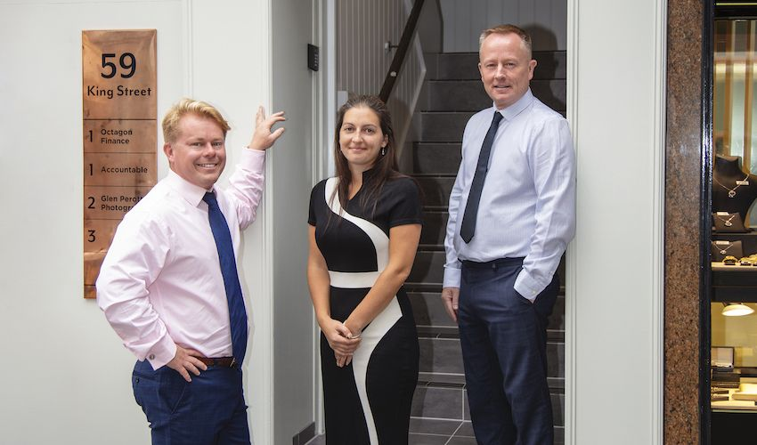 New offices and staff for Octagon Finance