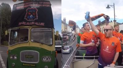 Sunday league side celebrates Essex domination with open-top bus parade