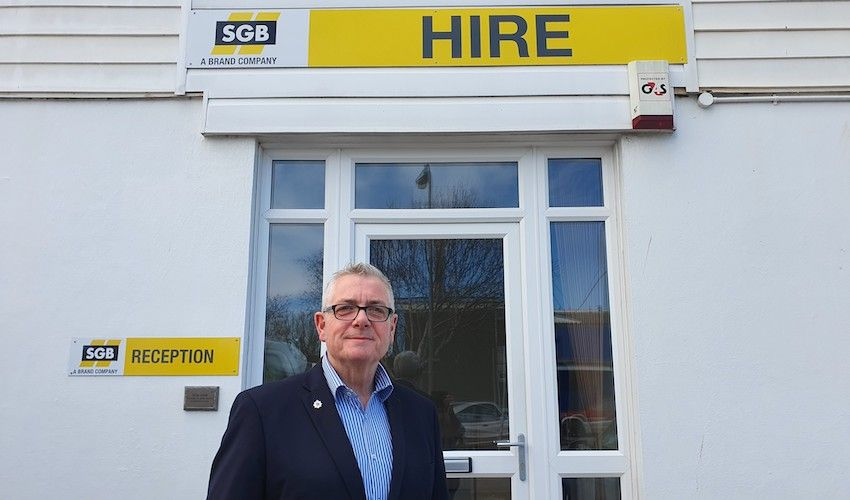 New General Manager appointed at SGB Hire