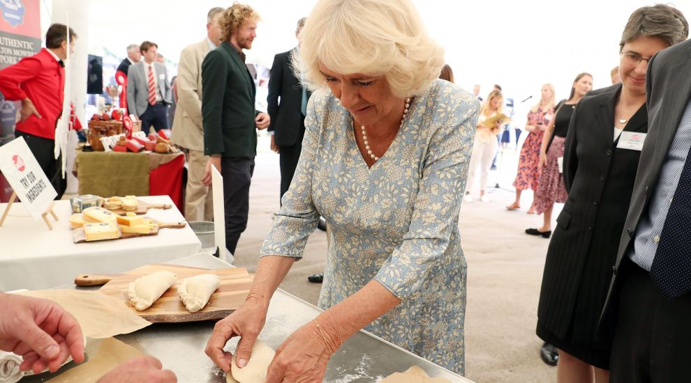 Camilla wins praise for pasty-making skills from Michelin star chef