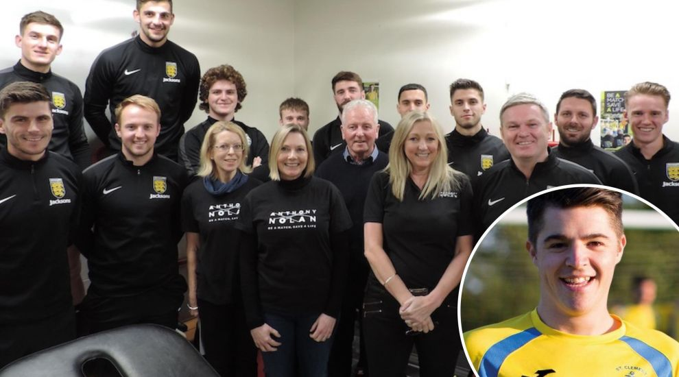 Football talents sign up as stem cell donors