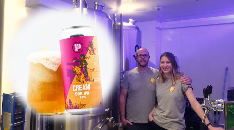 "Brewing couple launches ""inspirational"" beer in a can"