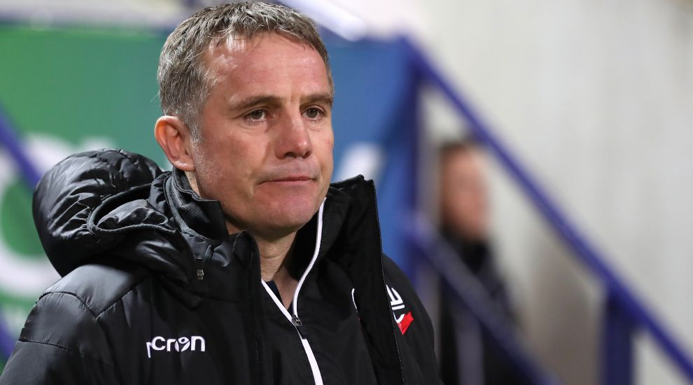 "Parkinson hopes Bolton have ""brighter future"" ahead"