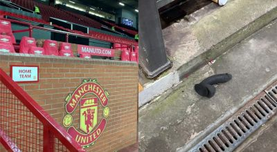 Discovery of sex toy raises eyebrows at Old Trafford