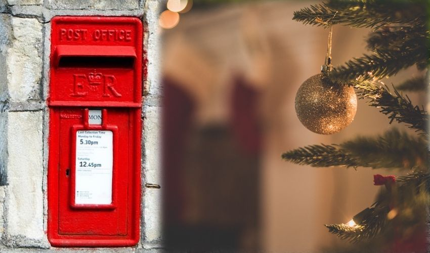 Jersey Post shares top tips for festive posting