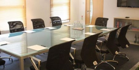 Contemporary Boardroom table & chairs for sale