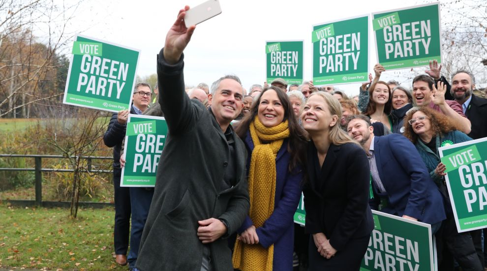 Campaign highlights: Greens launch manifesto as Boris Johnson pulls no punches