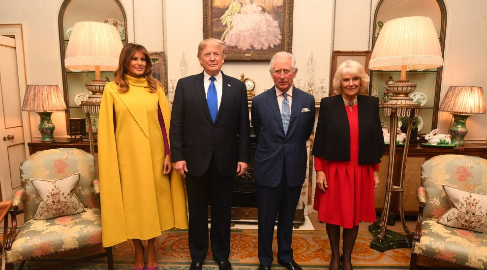 Charles and Camilla welcome Donald Trump and Melania for tea at Clarence House