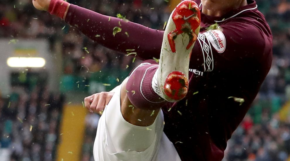 Hearts forward Clare wants to join Gorgie greats