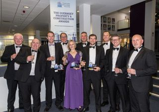 Winners in last night's Guernsey Property & Construction Awards