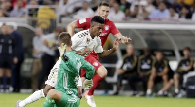 Watch: Rodrygo, 18, scores stunning free-kick on Real Madrid debut