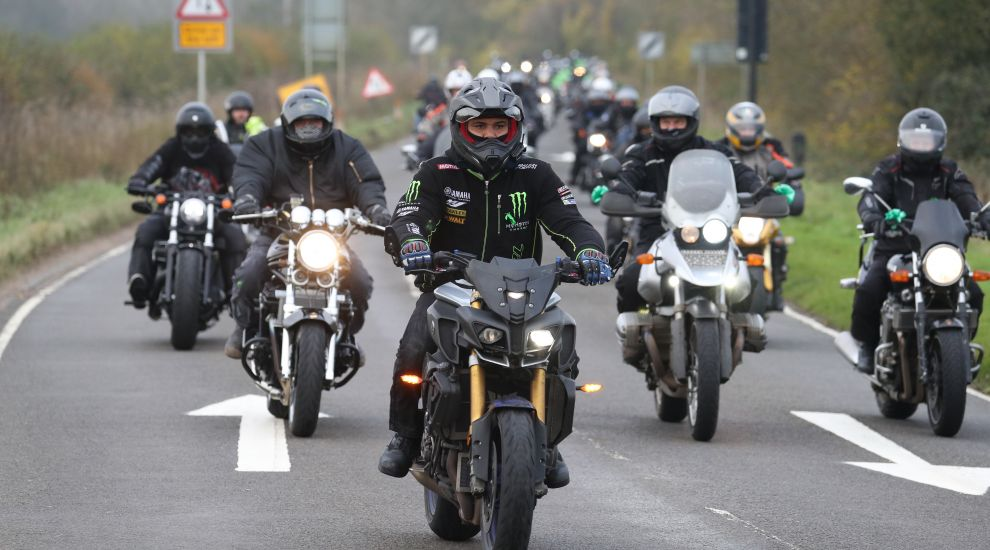 Motorbike convoy follows Harry Dunn's last ride