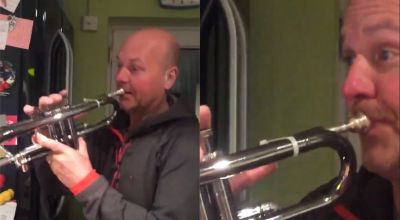 K-pop fans make dad go viral after he plays trumpet to BTS song
