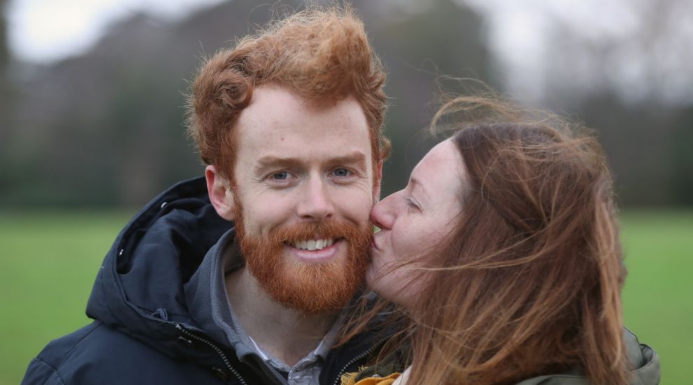 Redheads get together on Kiss a Ginger Day