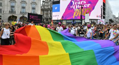 Sam Smith and Little Mix take to streets for London Pride