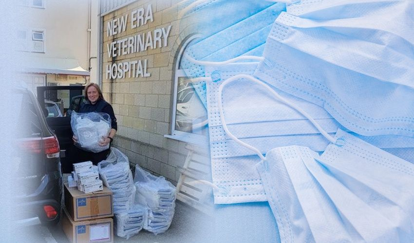 Vets donate medical supplies to hospital