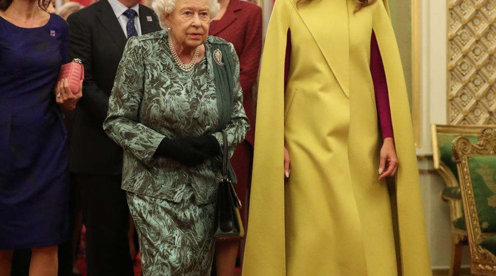 Trumps among guests as Queen hosts Nato leaders at palace