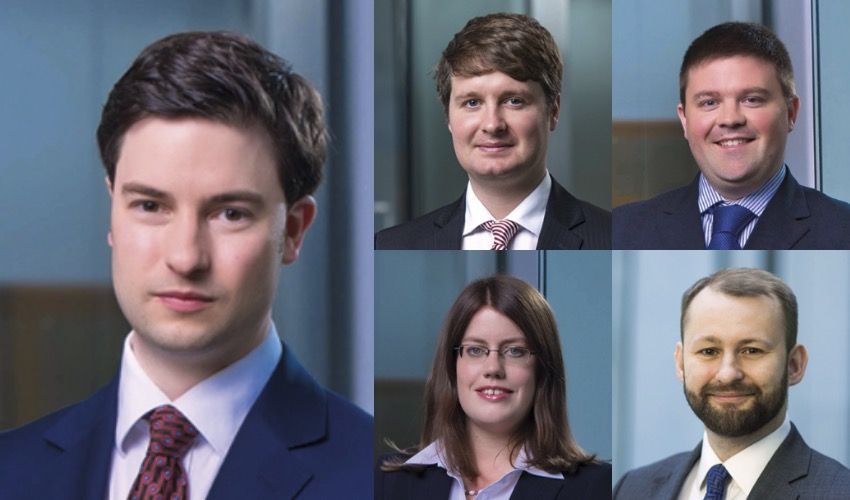 Law firm makes quintet of promotions