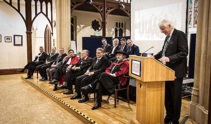 Former Bailiff awarded honorary Master of Laws