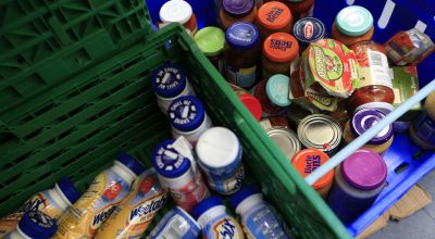 Online donations to food bank social enterprise rise 5,000% in a month
