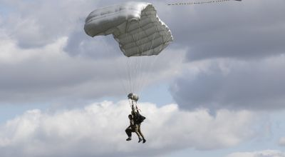 98-year-old D-Day veteran's parachute jump takes him closer to milestone moment