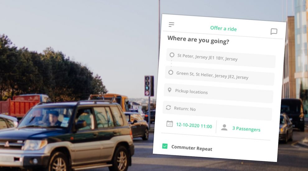 Car sharing app aims to make commute greener