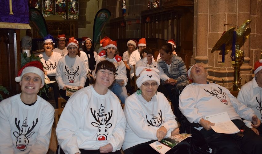 Disability charity hosts festive carol service