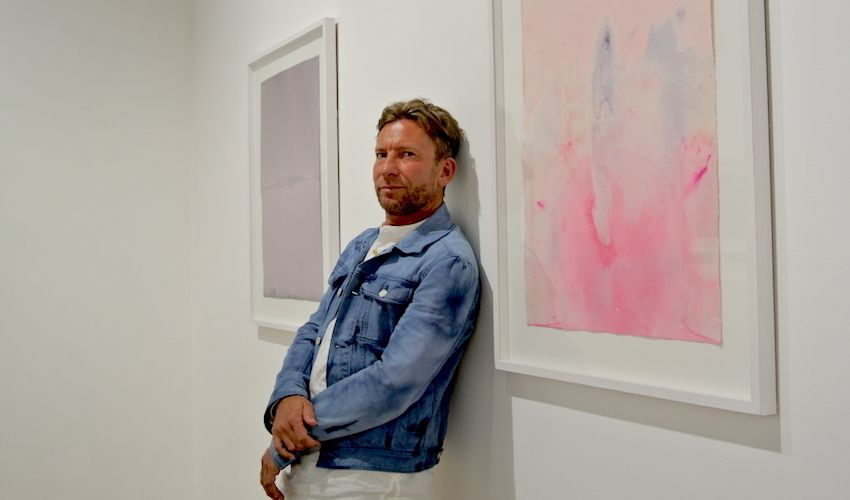 "GALLERY: ""I am a landscape painter dressed up as an abstractionist"""